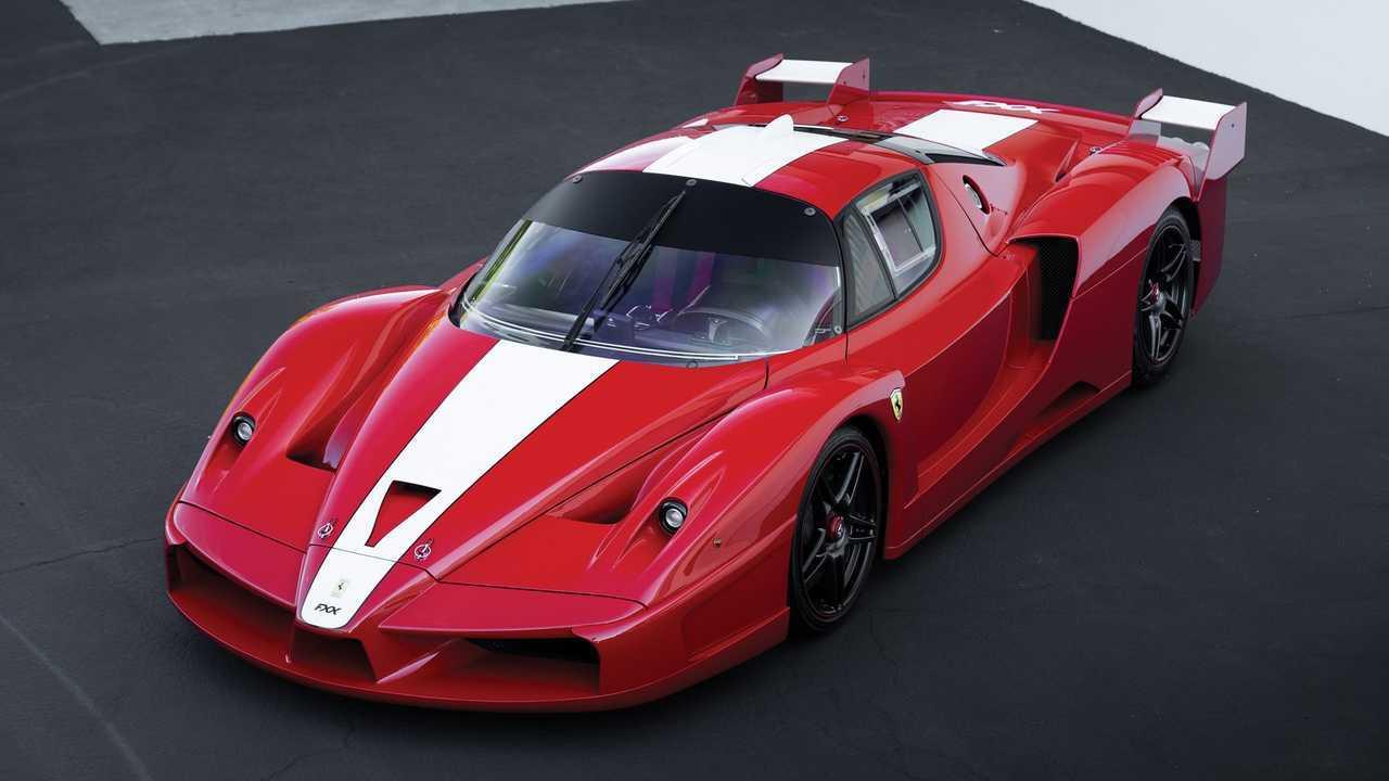 Ferrari FXX aux enchères
