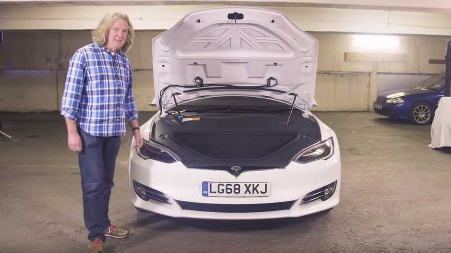 James May says the Tesla Model S P100D is ludicrously good