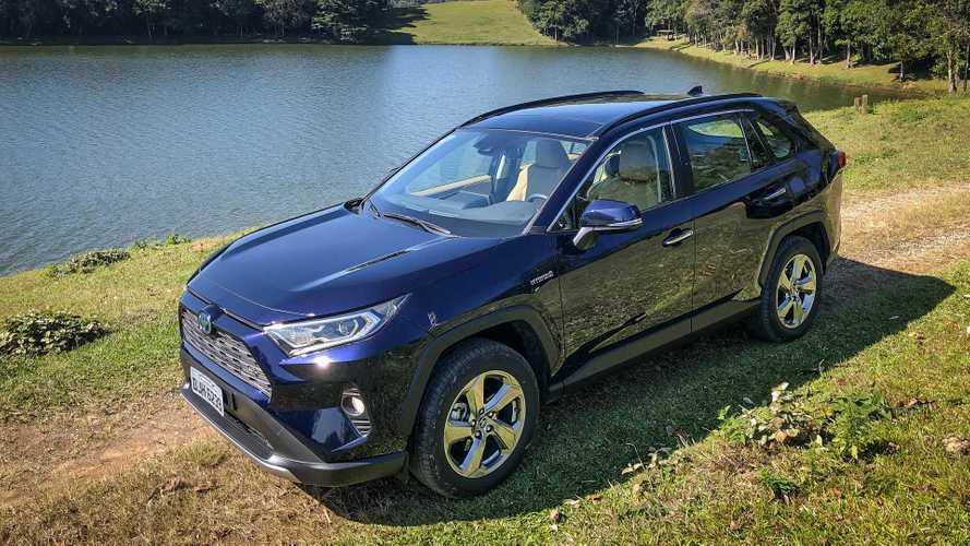 SUVs mais vendidos em julho: novo RAV4 salta quase para o pódio