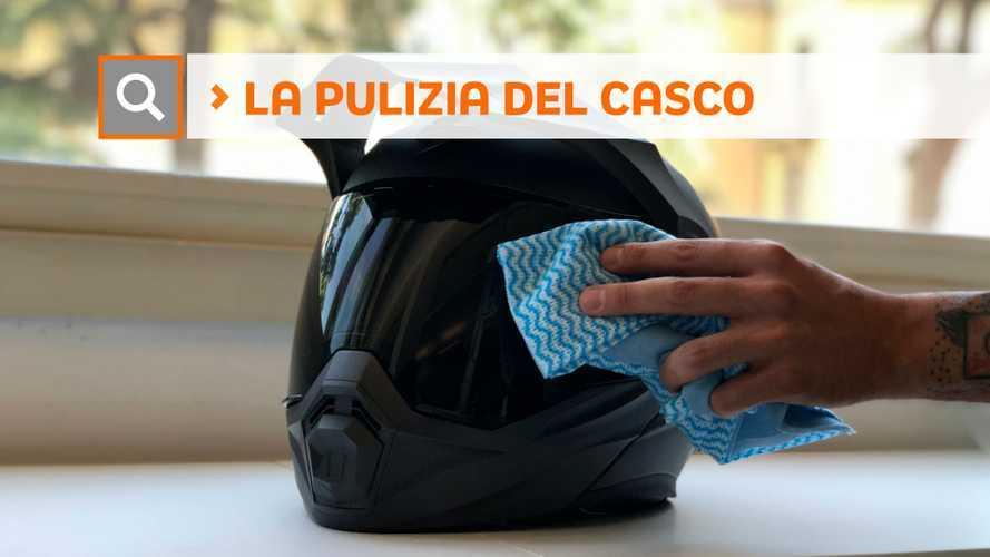 Tutorial: come si pulisce il casco della moto