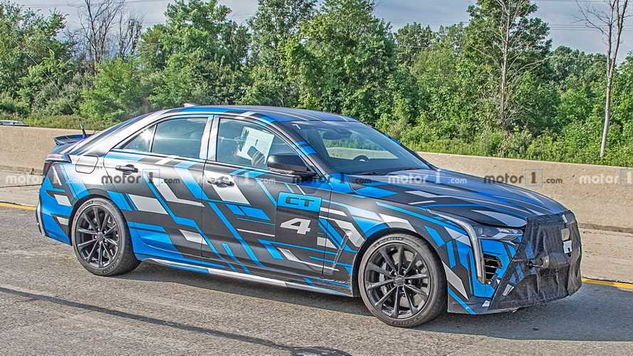 Hear Cadillac's Blackwing-Powered Super Sedans Scream During Testing