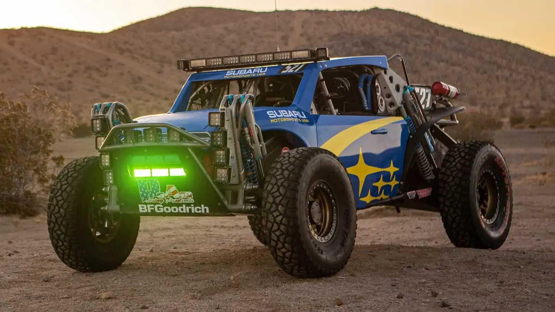2019 Subaru Crosstrek Desert Racer