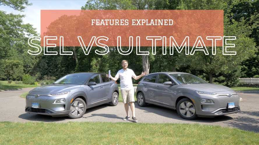 2019 Hyundai Kona Electric Trim Comparison: SEL Vs Ultimate