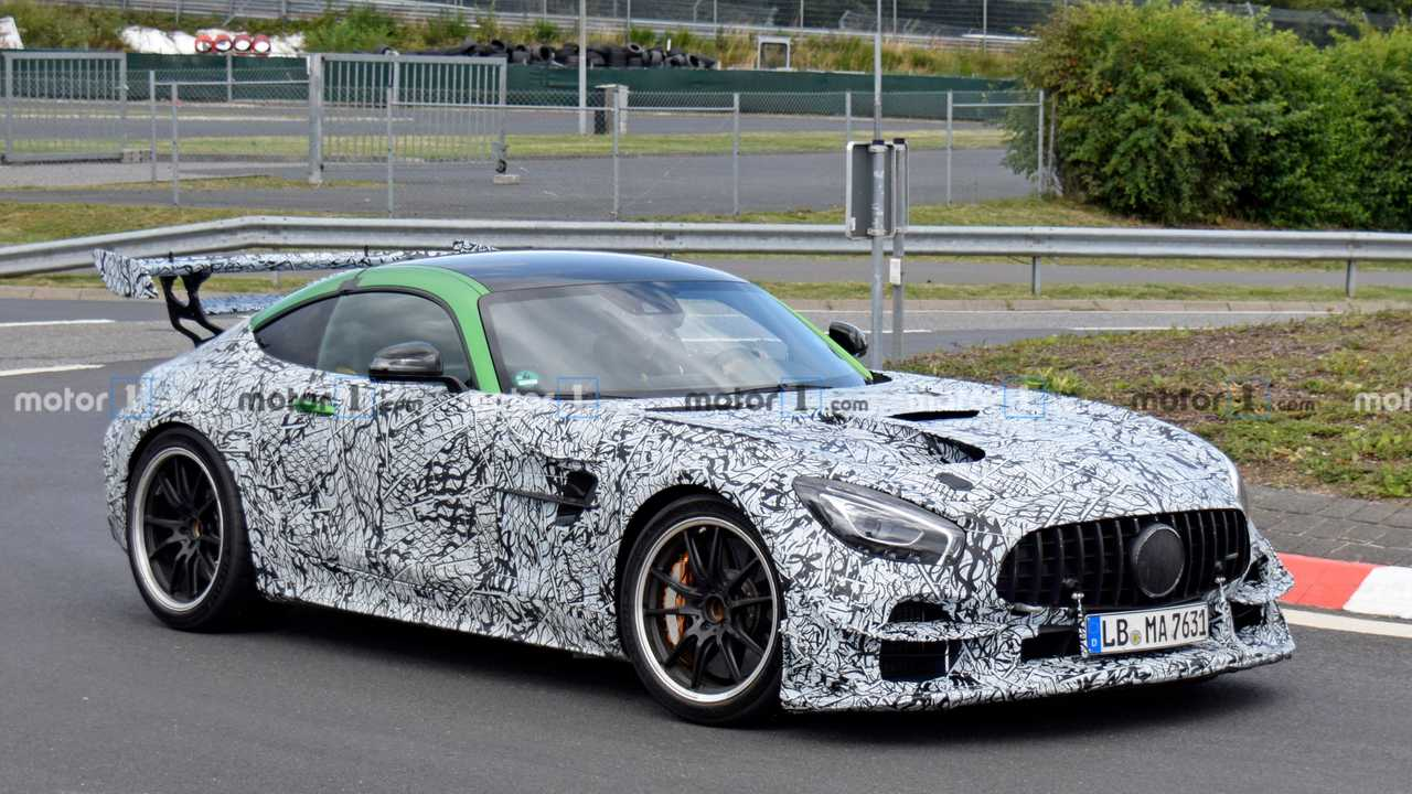 Mercedes-AMG GT R Black Series Spy Photo