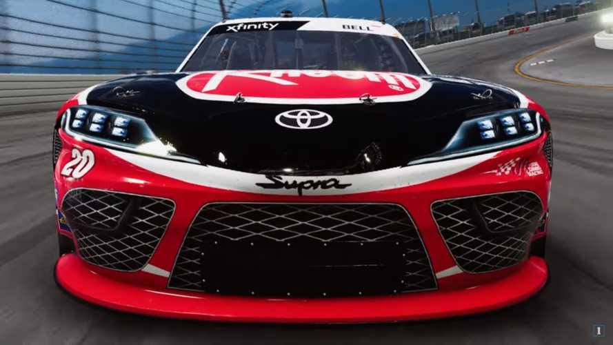 Toyota Supra Makes V8-Powered Sim Racing Debut In NASCAR Heat 4