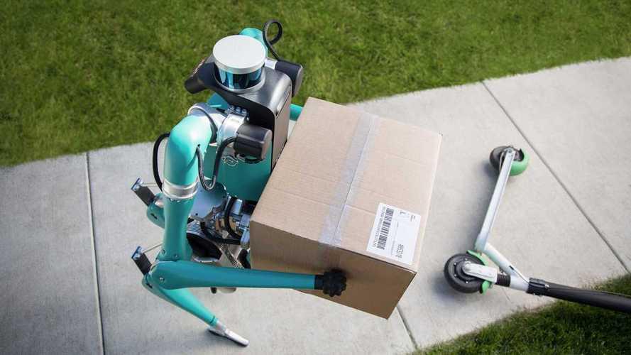 Ford e Digit, il robot per la guida autonoma