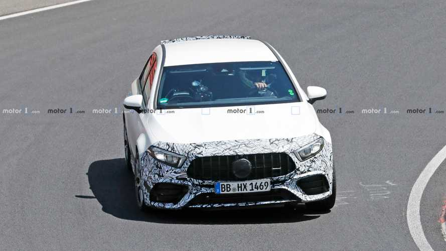 Fotos de prototipo de pruebas del Mercedes-AMG A45 2020