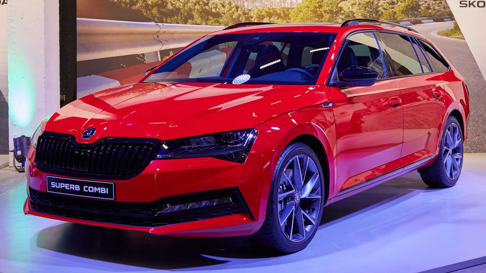 2020 Skoda Superb Facelift Goes Official With Plug-In Hybrid