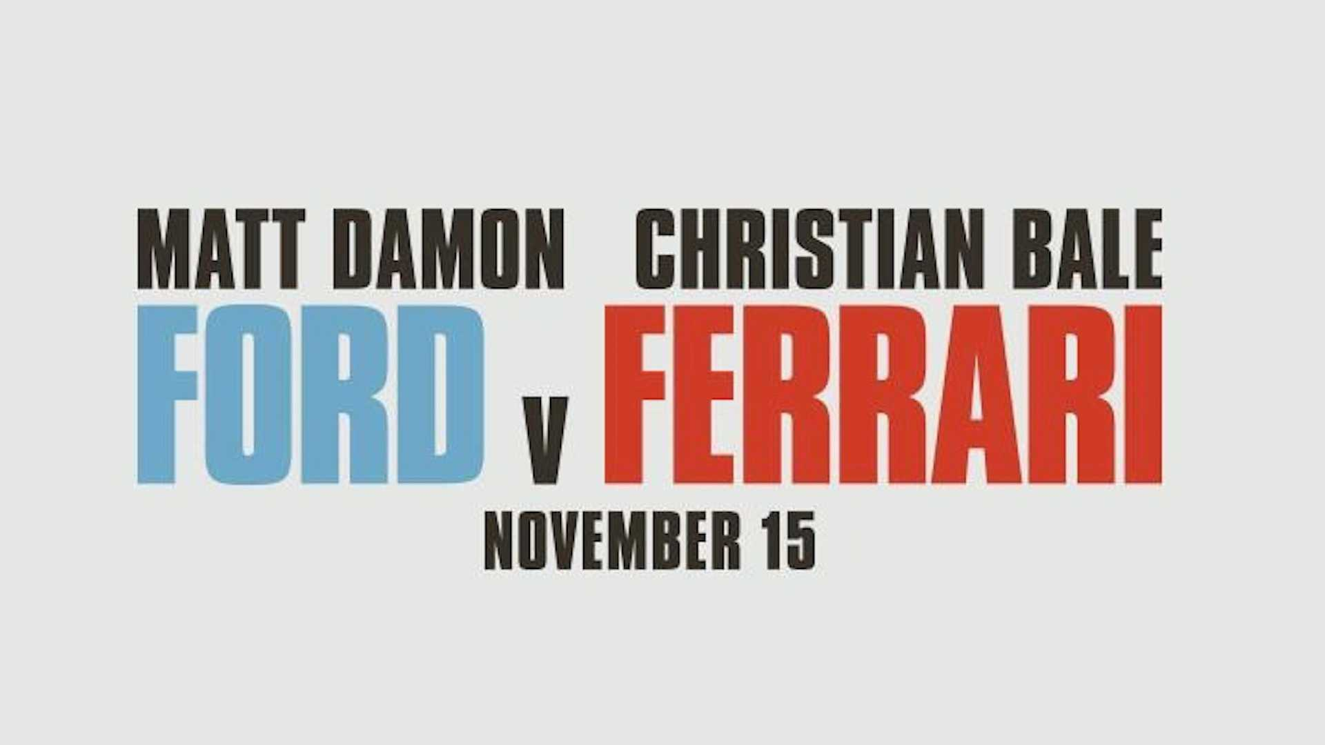 Image result for ford vs. ferrari release date