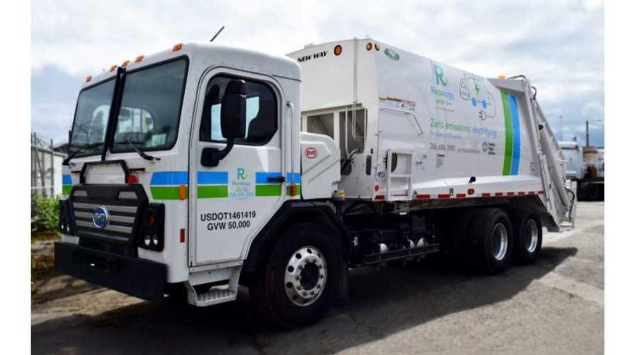 BYD refuse truck