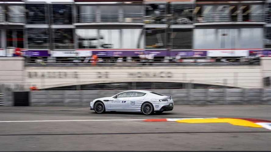 Aston Martin Rapide E à Monaco