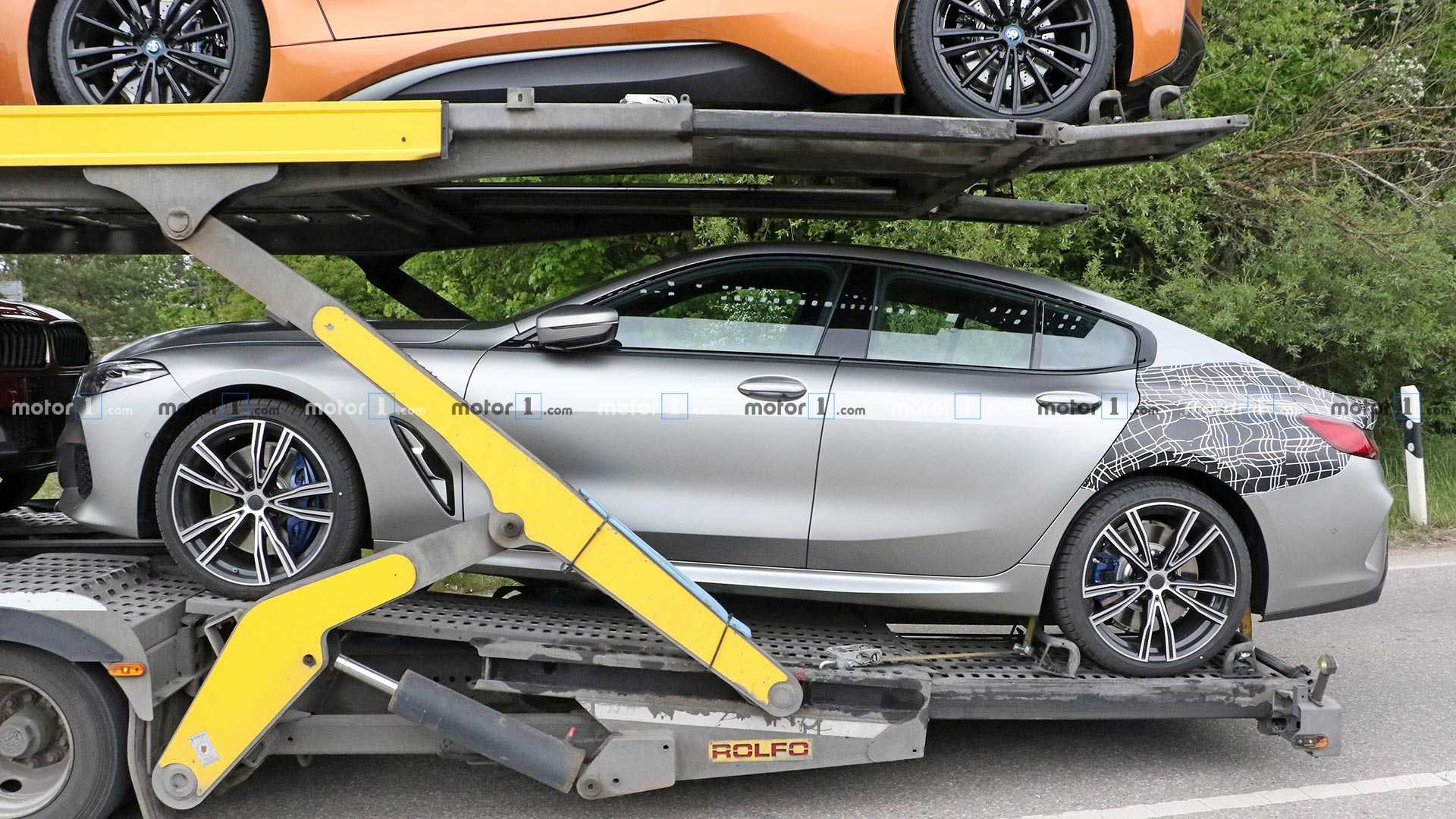 2019 - [BMW] Série 8 Gran Coupé [G16] - Page 3 Bmw-8-series-gran-coupe-spy-shots