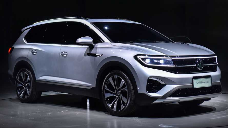 Volkswagen SMV revealed as its largest SUV yet