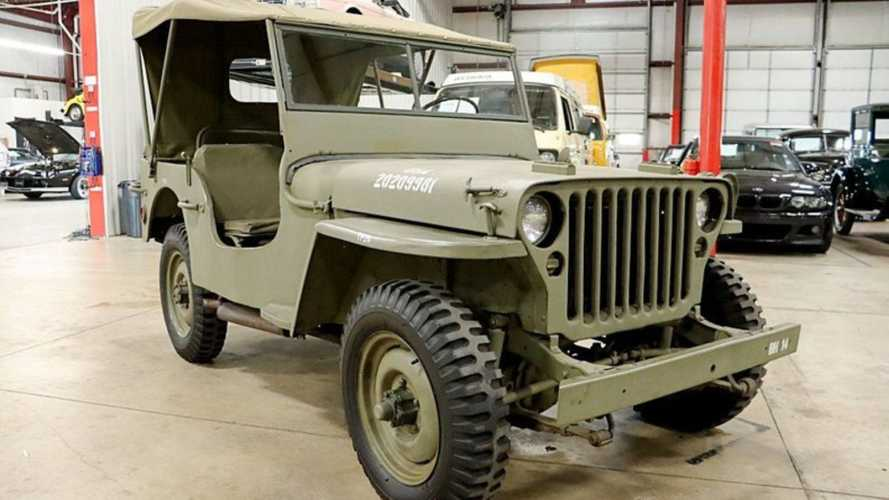 Celebrate Freedom With A 1945 Jeep CJ-2A
