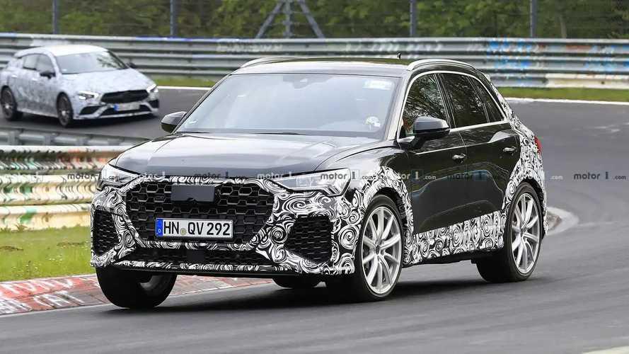 2020 Audi RS Q3 spy photos