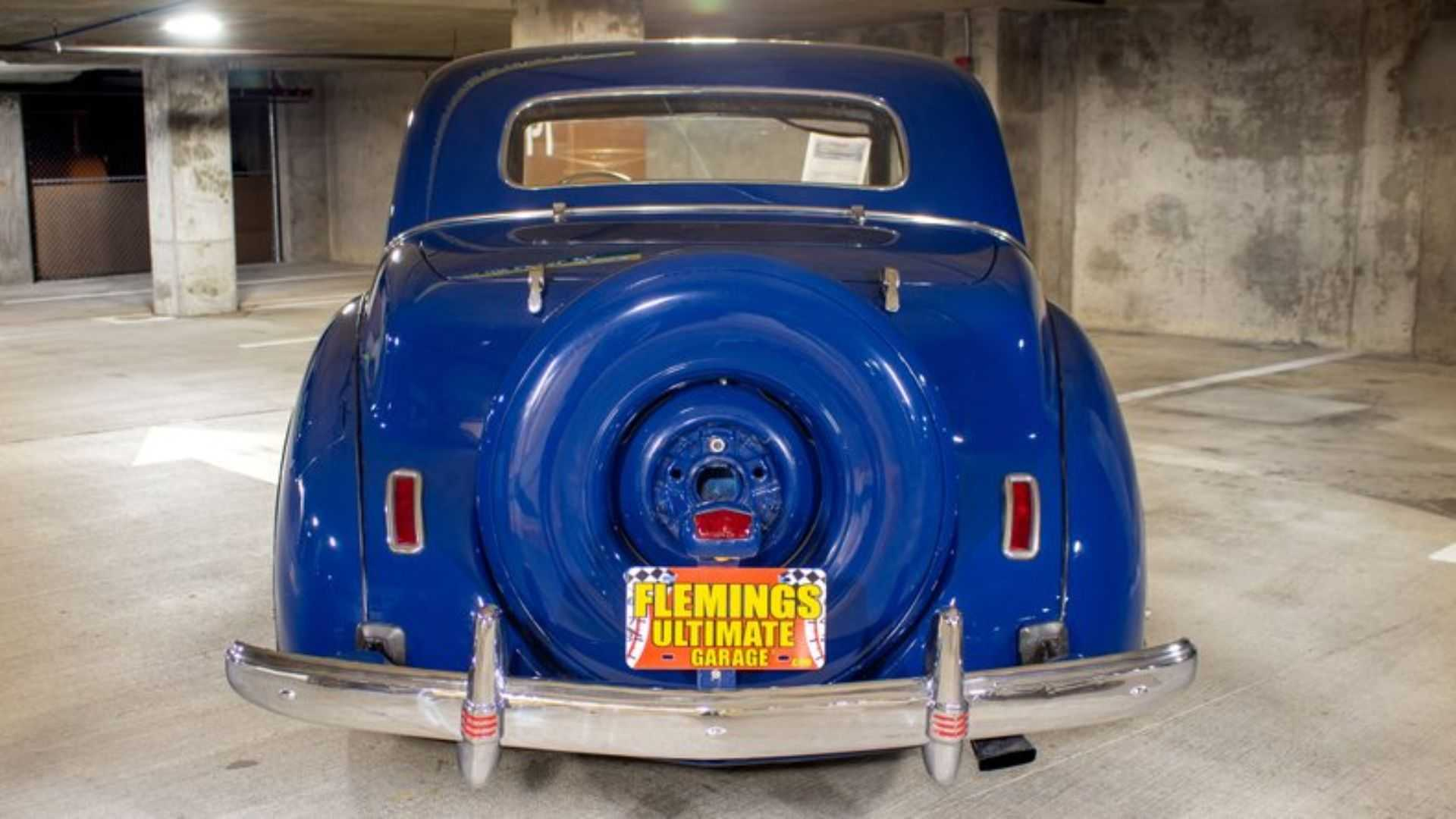 """[""""This 1941 Lincoln Continental Comes From The Harrah Museum""""]"""