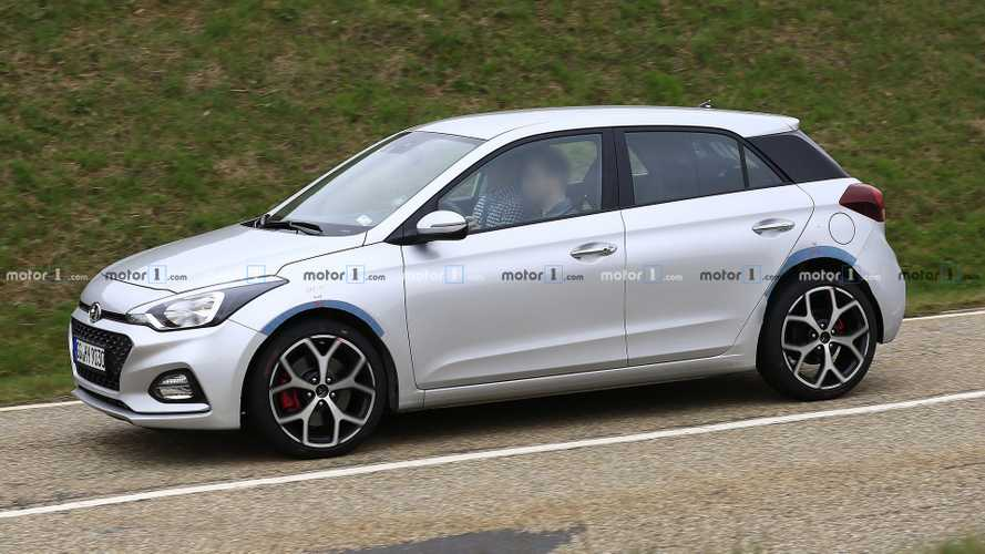 Hyundai i20 N spied for first time