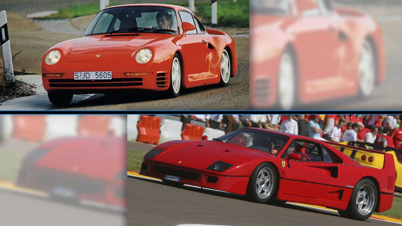 Ferrari F40 vs. Porsche 959