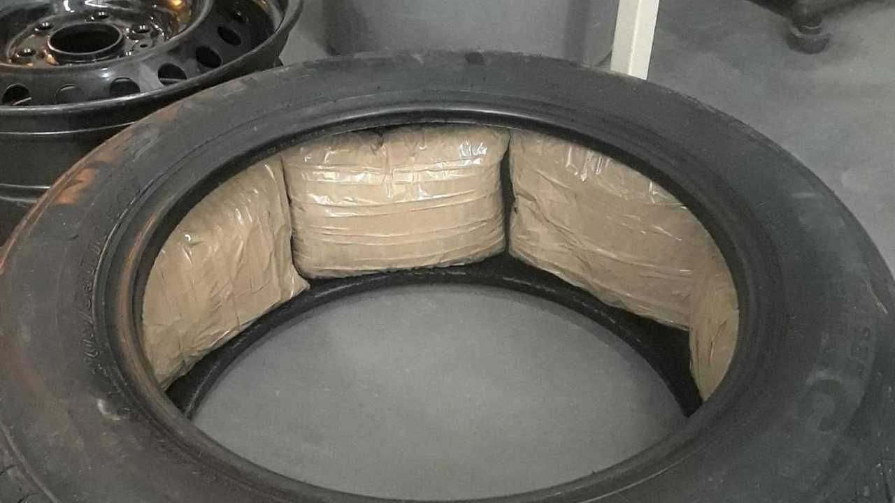 ford-tire-packed-with-meth