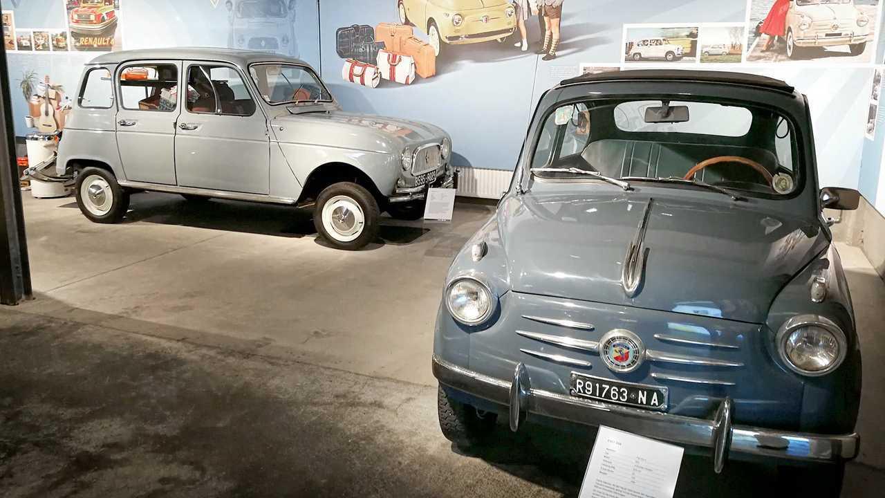 Kleinwagen-Ausstellung in Einbeck: Fiat 600/Renault 4