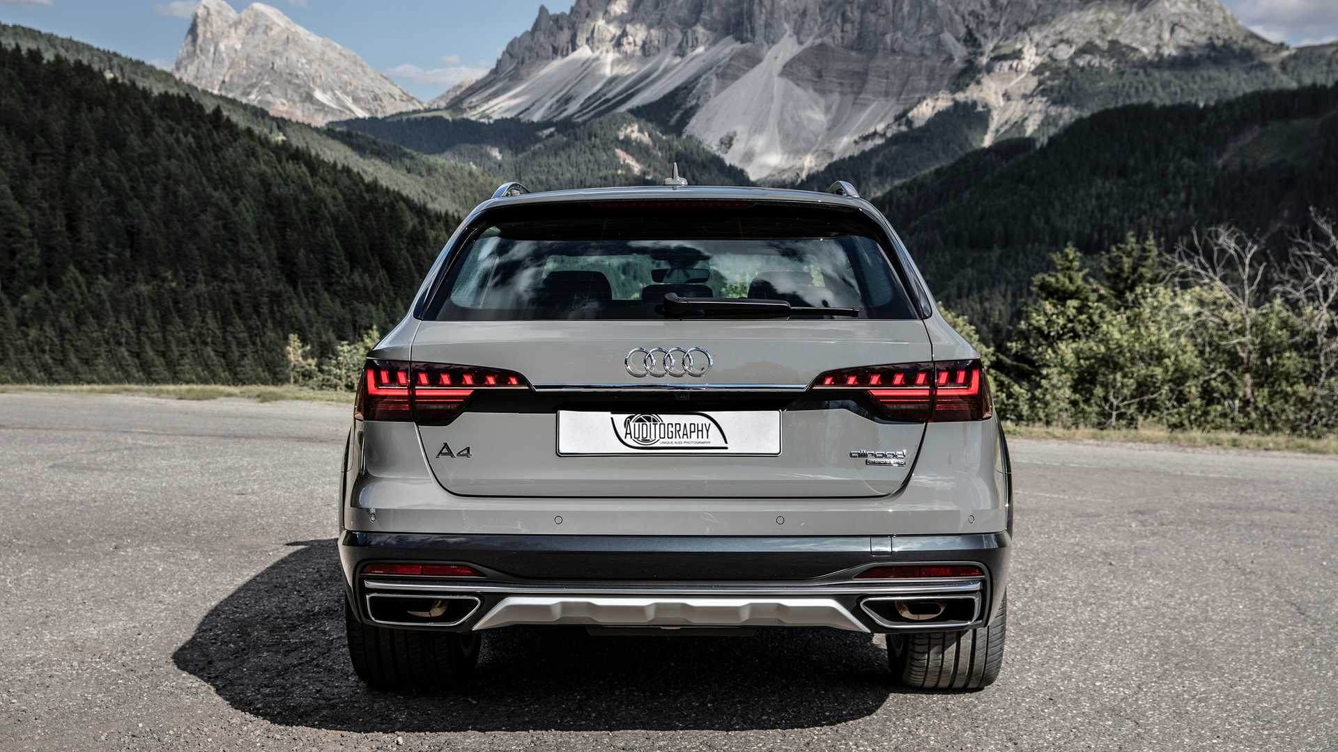2020 audi a4 allroad flaunts heavily reworked exterior on