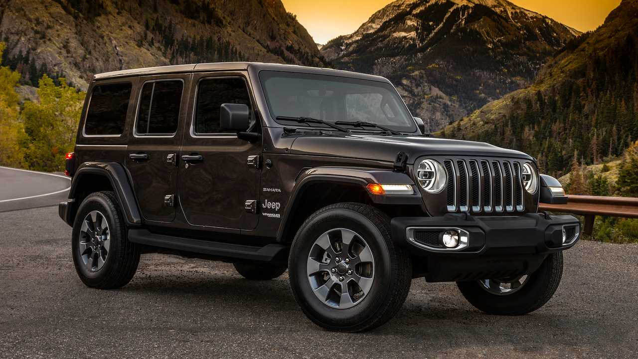 Off-Road SUV/Crossover: Jeep Wrangler