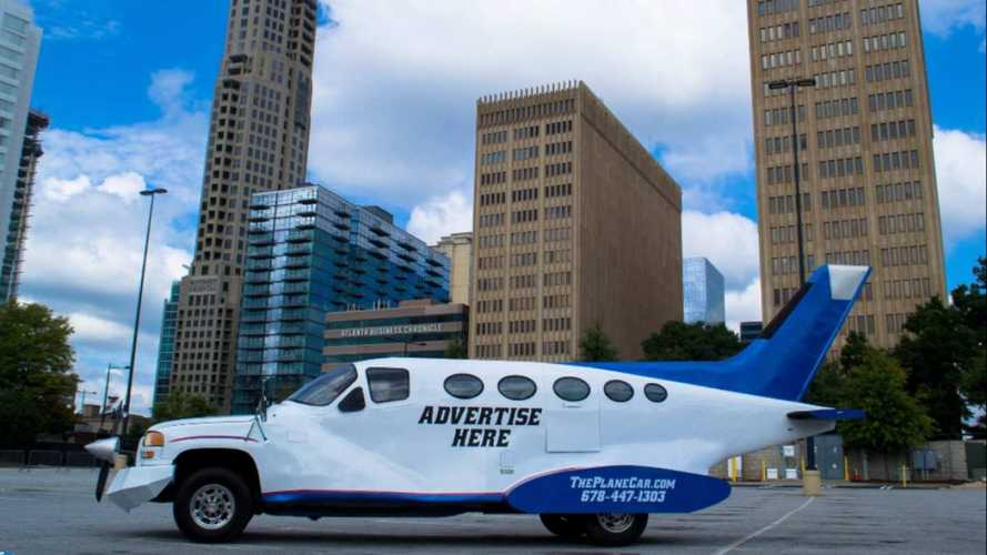 Can't Afford A Pilot's License? Buy This GMC Sierra Car Plane Instead!