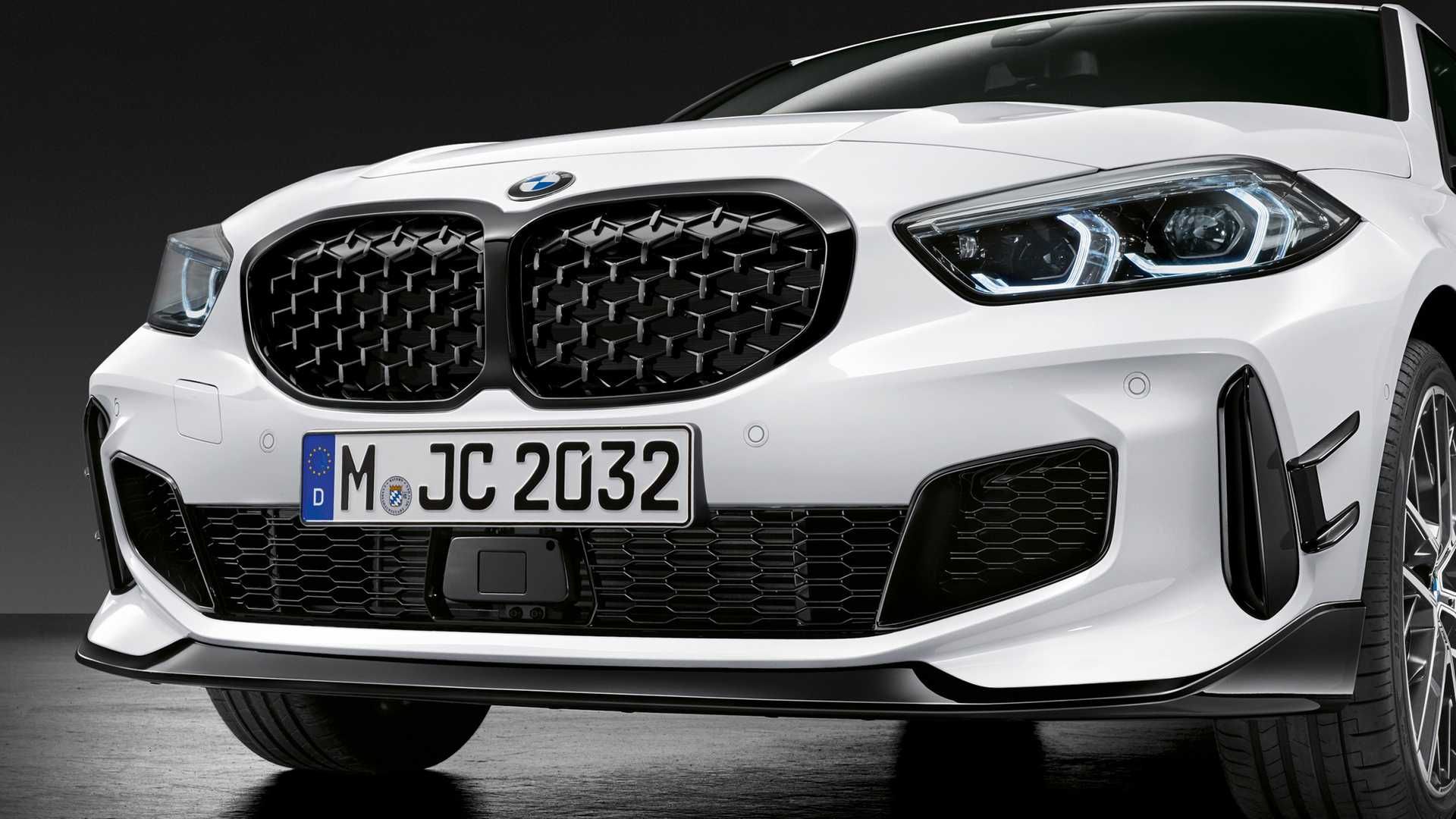 2020 Bmw M135i Xdrive Gets Sporty Look With M Performance Parts