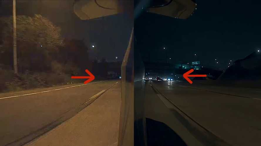 Tesla Dashcam Captures Crazy Multi-Car Spinout Crash: Video