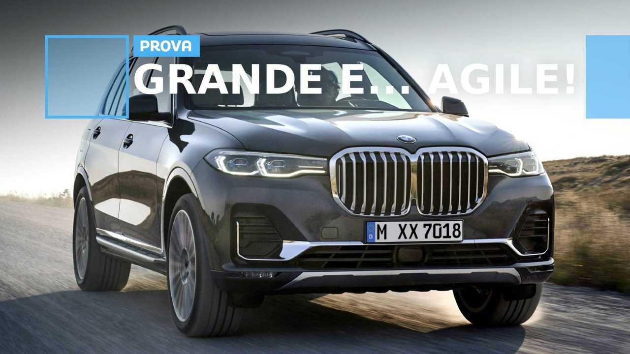 BMW X7 prova