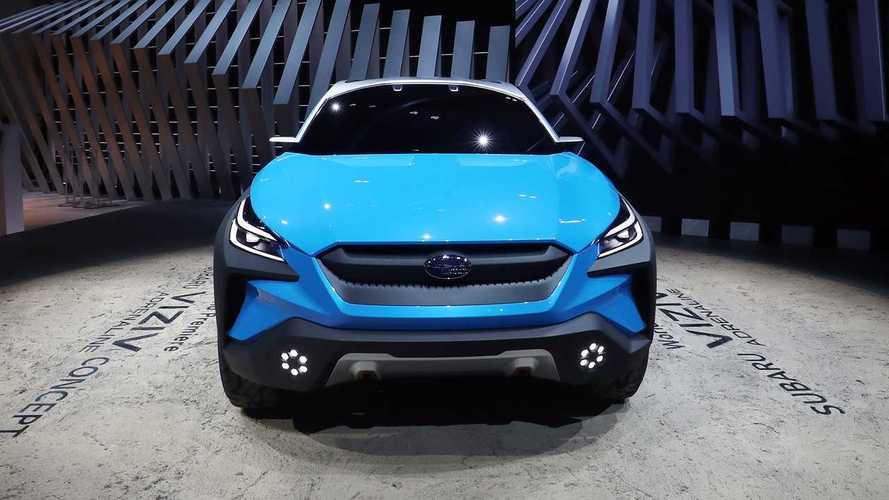 Концепт Subaru Viziv Adrenaline на Женевской выставке