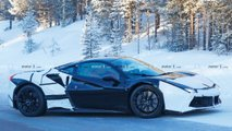 Ferrari Hybrid Test Mule