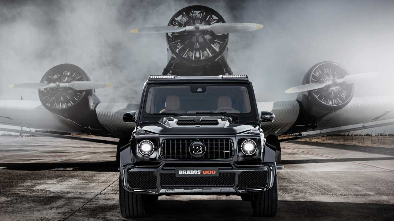 2019 Brabus 800 Widestar (Modifiyeli AMG G63)