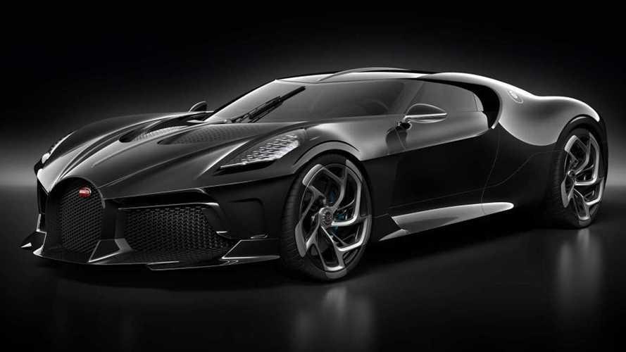 Minden idők legdrágább új autójaként debütált a Bugatti La Voiture Noire