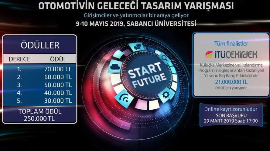 """""""Otomotivin geleceği tasarım yarışması""""nın başvuruları açıldı"""