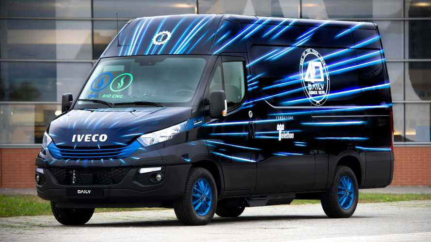 Iveco Daily a metano all'asta per Telethon