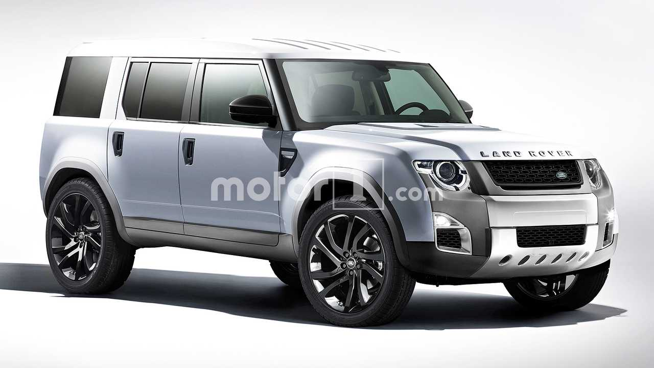 Nuovo Land Rover Defender, il rendering
