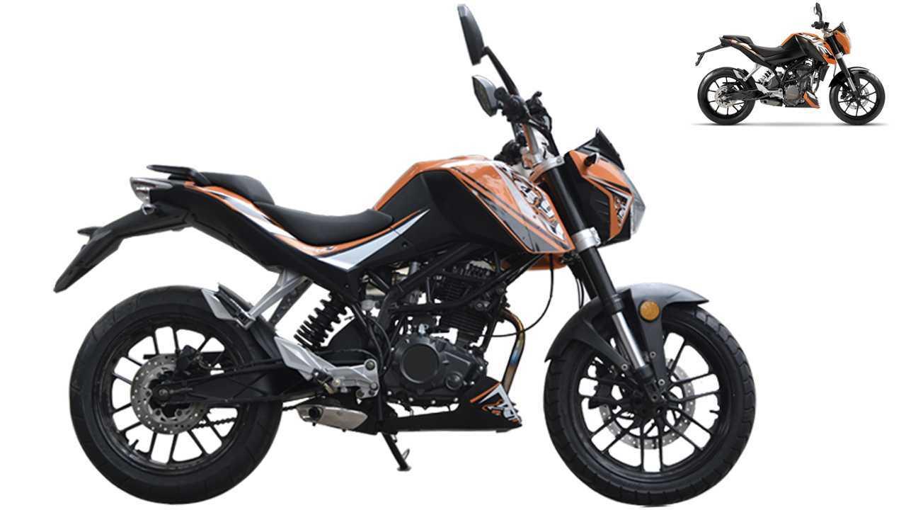 Jida JD250S-9 = KTM Duke 200