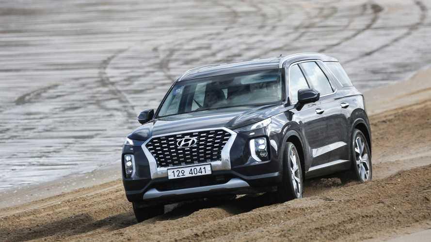 В России замечен первый Hyundai Palisade