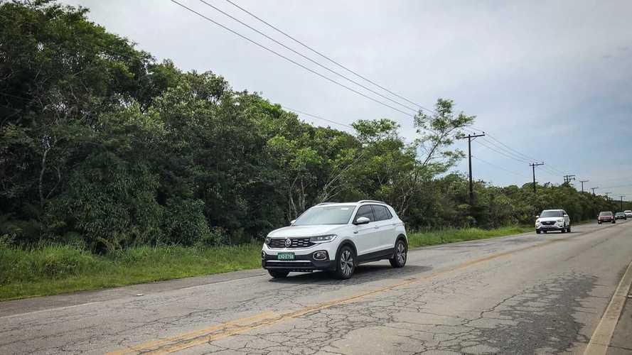 Flagra: VW T-Cross testado com Hyundai Creta