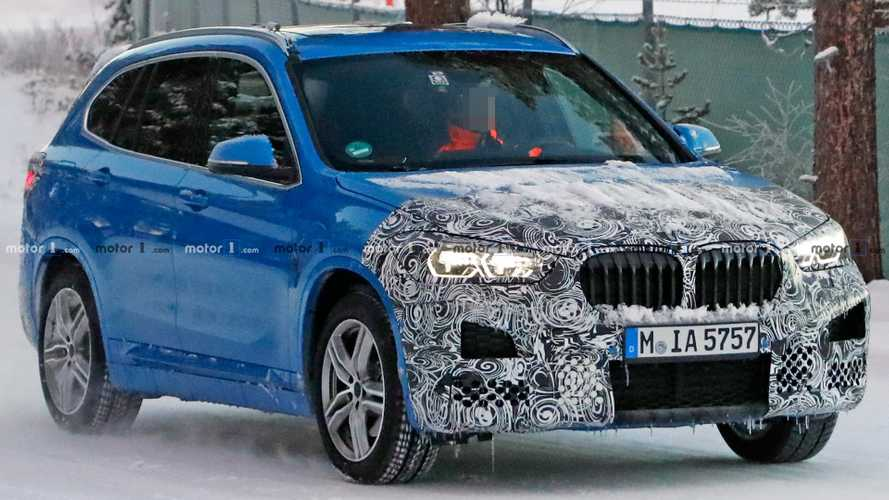 BMW X1 Spied Using Camouflage And Snow To Conceal New Look