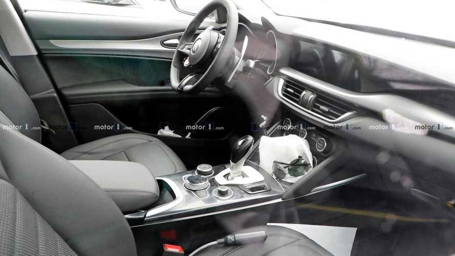 Alfa Romeo Stelvio Spy Photos