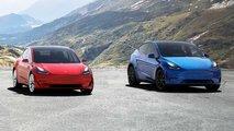 Tesla Model Y face au Model 3