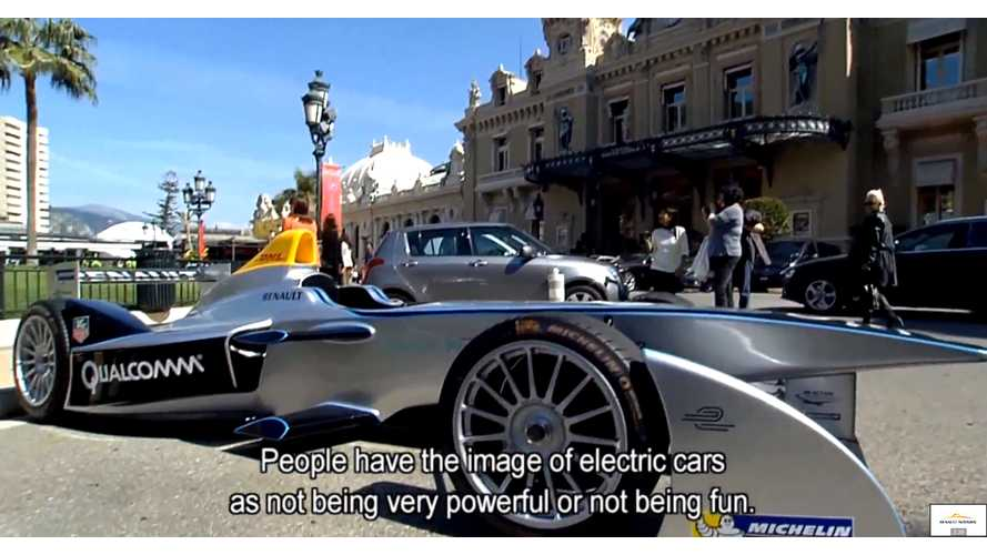 Renault-Nissan - Racing Electric Vehicles On The Track - Video