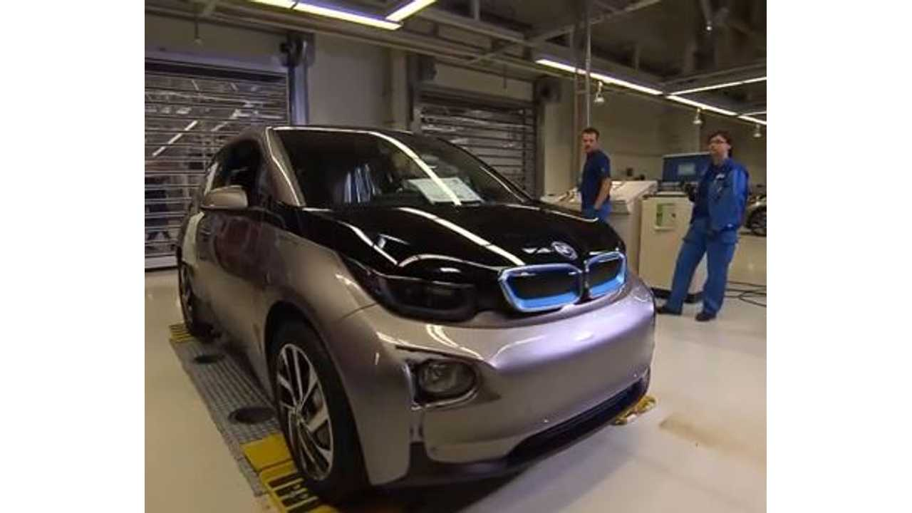 BMW Bumps Up i3 Production Rate To 20,000 Units in 2014