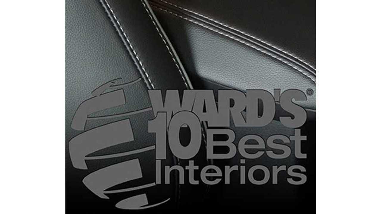 Cadillac ELR - Ward's 10 Best Interior Nominee