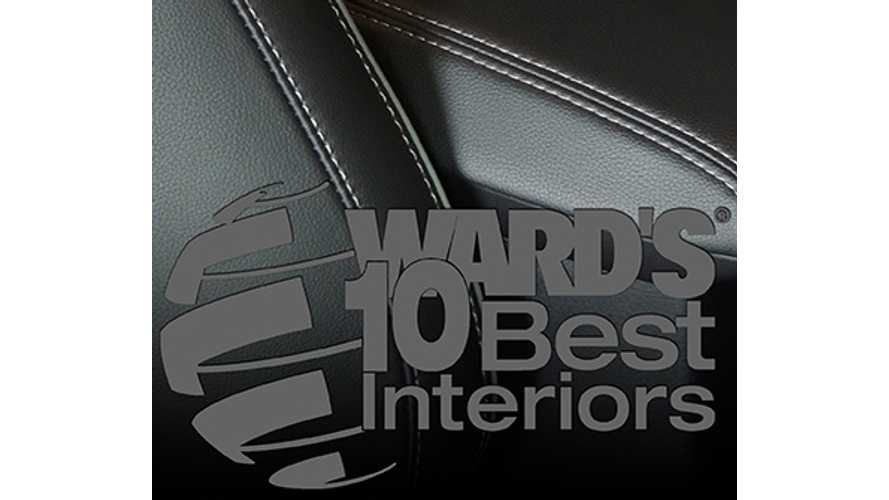 Cadillac ELR - Ward's 10 Best Interior Nominee