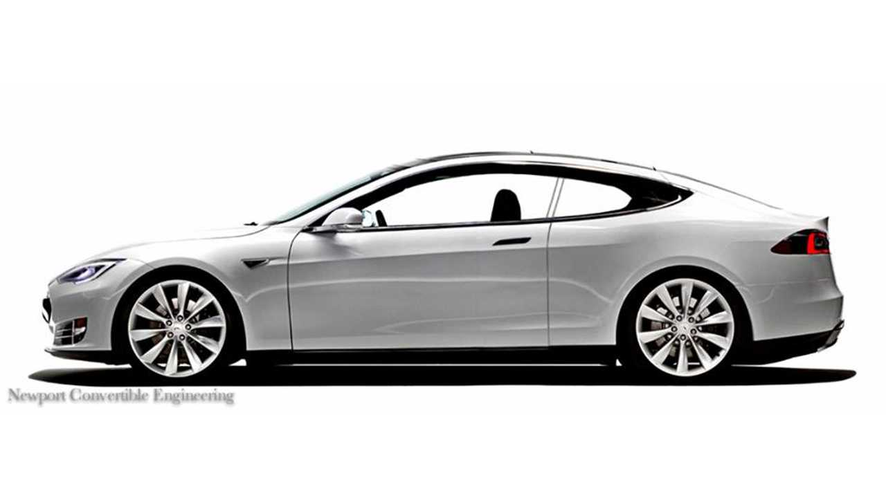 If You Fancy Just a Coupe Tesla Model S - For $25,000 NCE Will Delete A Couple Doors For You!