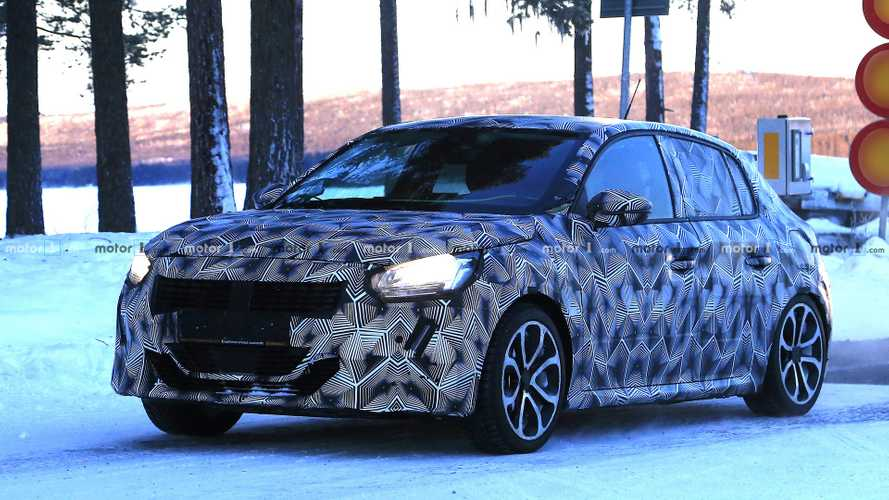 2019 Peugeot 208 Spied Looking Cute And Stylish [22 Photos]