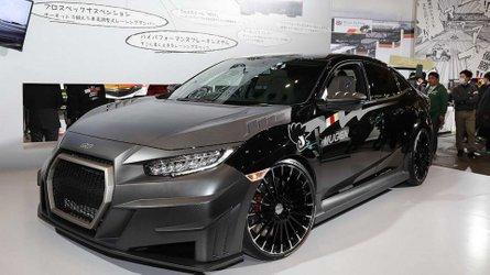 Mugen RC20GT Concept - La Honda Civic Type R en salle de sport